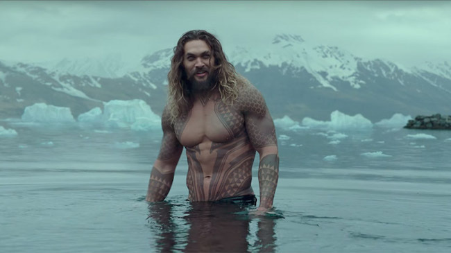 Aquaman in Justice League via warner bros