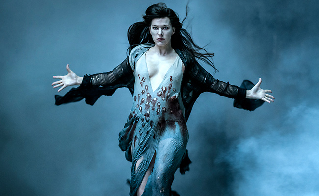 Milla Jovovich in Hellboy, courtesy Lionsgate/Summit